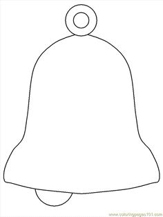 free printable coloring image Bell3