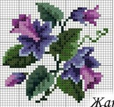 36 Ideas embroidery patterns cross stitch flowers punto croce for 2020 Counted Cross Stitch Patterns, Cross Stitch Charts, Cross Stitch Designs, Folk Embroidery, Hand Embroidery Patterns, Cross Stitch Embroidery, Cross Stitch Rose, Cross Stitch Flowers, Art 33