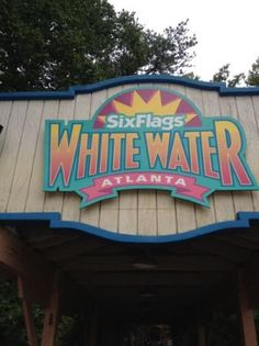 SIX FLAGS' WHITE WATER amusement park in Marietta is a 40 acre fun and very wet place.