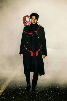 OPPA XD MY PHOTO WITH GONG YOO1!!1(no) Gong Yoo Dokkaebi goblin drama kdrama