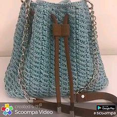 Curso de croche passo a passo aprenda de modo simples facil e rapido. Videos Curso de croche passo a passo aprenda de modo simples facil e rapido. Free Crochet Bag, Crochet Tote, Crochet Handbags, Crochet Purses, Diy Crochet, Crochet Designs, Crochet Patterns, Hand Knit Bag, Crochet Shoulder Bags