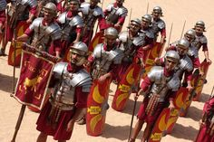 1. Mythical Origins Legends tell that the Roman army began with Romulus, the mythical founder of Rome, and his bodyguard of 300 warriors called the celeres