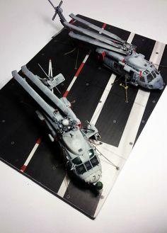 HH-60H SeaHawk & HH-60R Rescue 1/72 Scale Model
