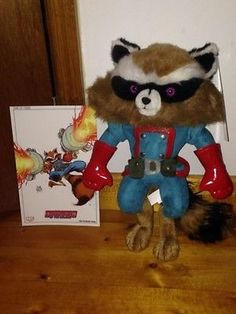 Rocket Raccoon Plush NYCC 2013 Exclusive Guardians of the Galaxy