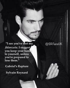 """I see you've met my fidanzata …"" #GabrielsRapture by @sylvain Reynard"