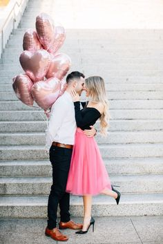 Wedding Photography Poses Snag this Valentines day outfit from Bliss Tulle - Bliss Tulle has gorgeous skirts to keep you looking stylish from your engagement to your proposal. Rose Gold Balloons, Heart Balloons, Couple Photography, Wedding Photography, Photography Poses, Wedding Ideias, Anniversary Pictures, Wedding Anniversary, Engagement Photo Outfits