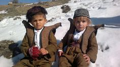 Adorable Kurdish Kids in traditional Costumes.