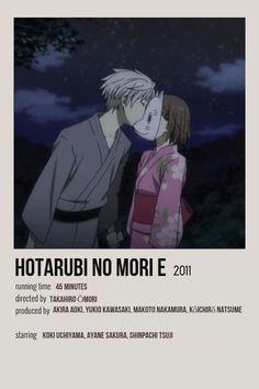 Good Anime To Watch, Anime Watch, Film Anime, Anime Titles, Otaku Anime, Anime Guys, Poster Anime, Hotarubi No Mori, Anime Suggestions
