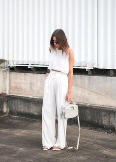 Color Inspiration: All White Everything ON THE BLOG www.amandajudgeny.com/blog #white #allwhite #whitefashion #weddingaccessories #bridal accessories