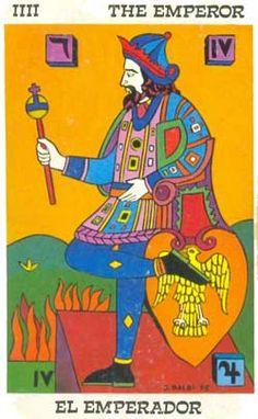 O Imperador no Tarot Balbi