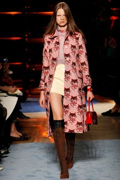 Miu Miu Spring 2014 Ready-to-Wear Collection Slideshow on Style.com #fashion #design #runway
