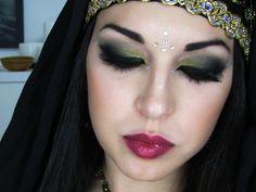 Maquillaje árabe. Arabian makeup tutorial
