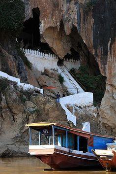 The Pak Ou Caves - Luang Prabang, Laos