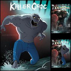Killer Croc, Crocs, Wetsuit, Dc Comics, Joker, Marvel, Scuba Wetsuit, Diving Suit, The Joker