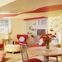 Basement ceiling Ideas!! sooo cute... there are more pics!  - more @ homyswety.com