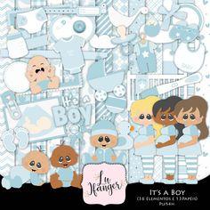 Kit Digital It's a Boy by Lu Ifanger