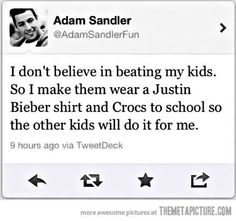 Thats good parenting right there. Lol