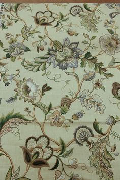fabricwarehouse.com - Fleur De Leaf In Natural -- Drapery Fabric By The Yard -- By Richloom, $6.98 (http://fabricwarehouse.com/drapery/folded-drapery-114-fabric/)