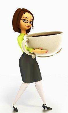 Big Girl Cuppa Coffee.