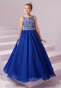 Tiffany Princess 13496 Flower Girl Dress