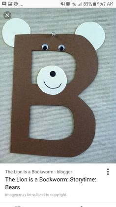 Zoo Crafts, Bear Images, Story Time, Book Worms, Kids Rugs, Symbols, Letters, Decor, Art
