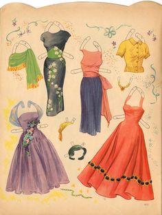 Martha Hyer 1958 Saalfield #4423 uncut - Google Fotos