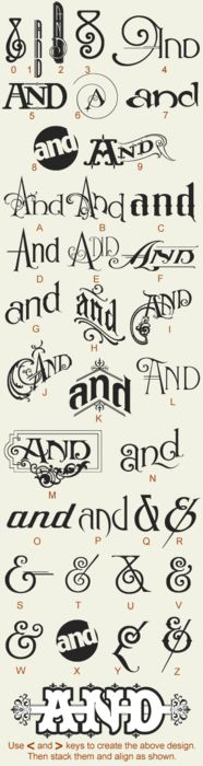 Typeverything.com - Noel's Ands glyphs.