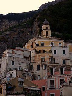 The village of Atrani, Italy