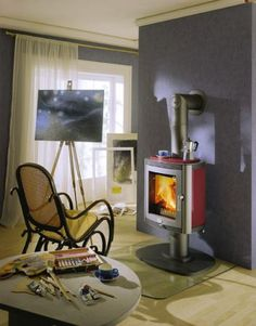Buy Heidelberg Wood Stove from Wilshire Fireplace Shop; we carry Black finish Sotve which are shown here.