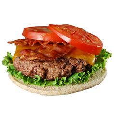 You can't find a more classic football food than a nice juicy burger. Setup a burger bar for your fans, offer all sorts of toppings including bacon, avocado, assorted cheeses, and include low carb bread options to those of us watching our carbs. Entree Recipes, Burger Recipes, Lunch Recipes, Diet Recipes, Cooking Recipes, Healthy Recipes, Recipies, Good Burger, Burger Bar