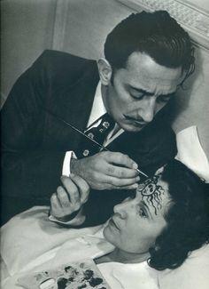 Gala and Salvador Dalí.