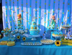 "Frozen/Frozen Fever / Birthday ""Ivy's Frozen 6th Birthday"" 