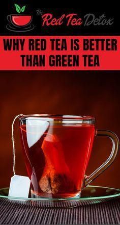 Mit grünem und rotem Tee abnehmen