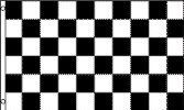 Black & White Checkered Flag (2x3ft) . $7.95. 2 Metal Grommets. Reinforced Hemming. 1 pc Polyester Flag. 3x5ft Polyester flag with 2 metal grommets. Reinforced hemming for heavy duty durability.. Save 20% Off!