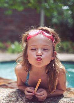 #child #kiss #happy