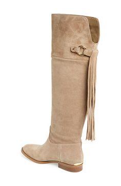 MICHAEL Michael Kors  Rhea  Knee High Suede Boot (Women)   Nordstrom 46d5fb4a64