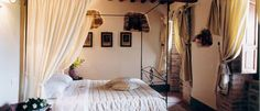 Inside apartments, villa San Crispolto, Italy - luxury wedding accomodation Italy www.romanticitalianweddings.com