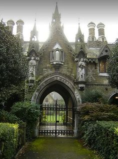 Gothic Gatehouse