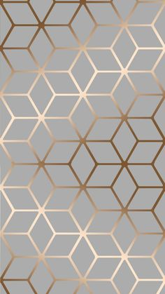 HOUSE OF ALICE Cubic Shimmer Metallic Wallpaper Grey Copper A Modern Geometric design brought to you by I Love Wallpaper. This Contemporary Cubic Pattern has a Metallic Aspect for added Luxury and Shine. For more colours and similar de Frühling Wallpaper, Metallic Wallpaper, Trendy Wallpaper, Wallpaper Backgrounds, Luxury Wallpaper, Geometric Grey Wallpaper, Colour In Wallpaper, Pattern Wallpaper Iphone, Blue And Gold Wallpaper