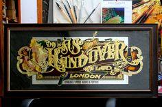Handover Brushes – London, England « David Smith – Traditional Ornamental Glass Artist