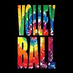 Tie Dye Volleyball T-Shirt