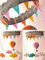 Hot Air Balloon Mobile1