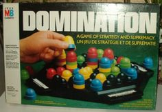 domination board game.  we got this for christmas and was my favorite game for a few years.