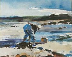 Andrew Wyeth - The Clam Digger