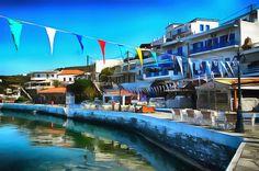 The Harbor. Batsi, Andros