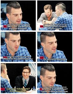 """Star Trek - Spock, Zachary Quinto ... """"Can you, in fact, """"Spock-ify"""" any phrase that I give you?"""""""