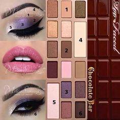 Too Faced Chocolate Bar #Roxy-Makeup