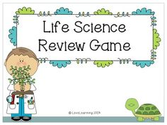 *FREEBIE* My students love this PowerPoint review game! The game reviews: animal and plant classification, inherited traits, learned behaviors, microorganisms, and animal/plant cells.