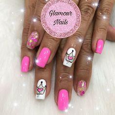 La Nails, Glamour, Paris, Beauty, Enamels, Finger Nails, Nail Designs, Nail Art, Fingernail Designs