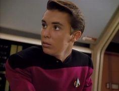 Star Trek Voyager, Star Trek Tos, Wesley Crusher, Super Teen, Corey Haim, Watch Star Trek, Wil Wheaton, Star Trek Characters, The Final Frontier
